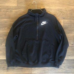 Nike half zip up sweatshirt